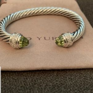 David yurman 7mm bracelet with diamonds